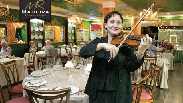 Goya Restaurant Madeira Menu